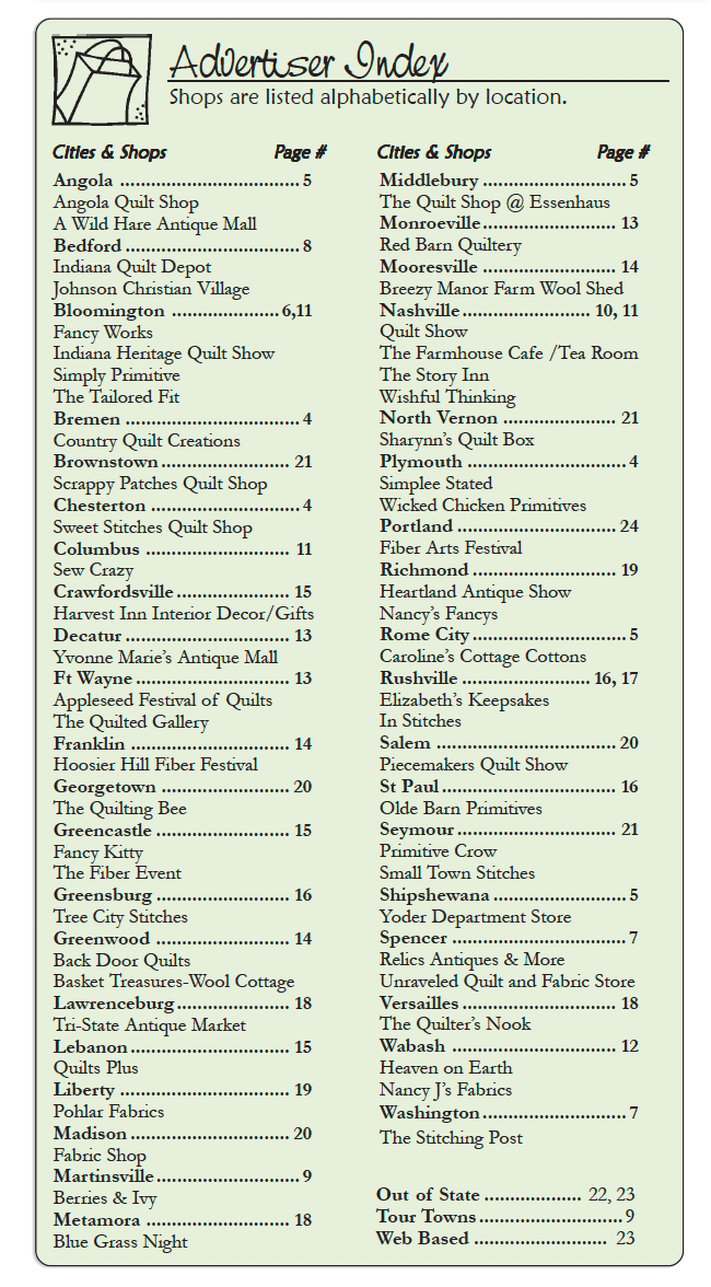 The Country Register of IN Current Advertiser Listing